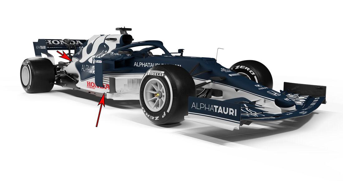 Alpha Tauri AT02 - Formel 1 - Technik - 2021