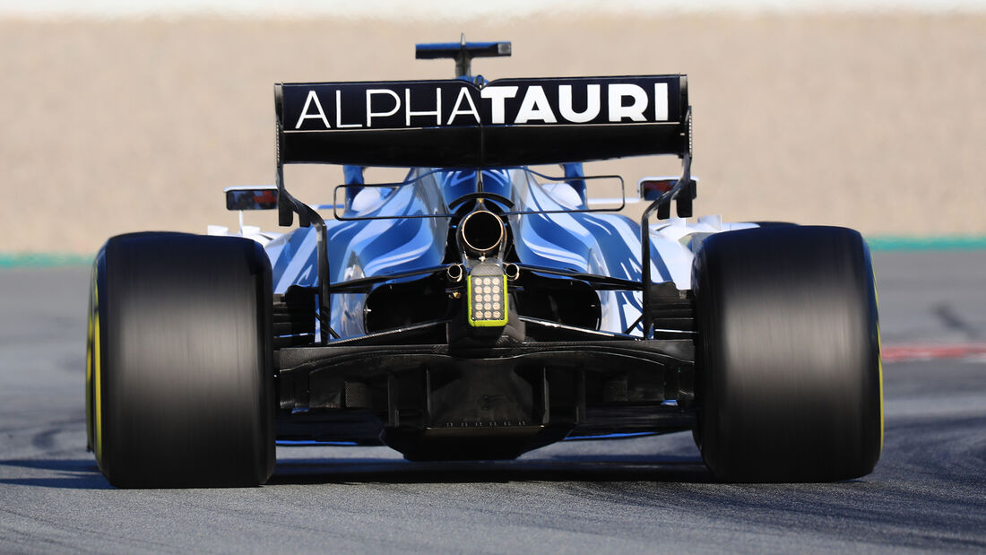 Alpha Tauri - Diffusor - F1-Test - Barcelona - 2020