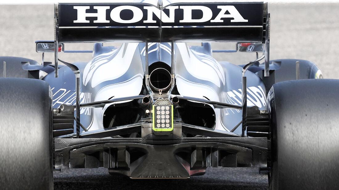 Alpha Tauri - Diffusor - Formel-1-Test - Bahrain - 2021