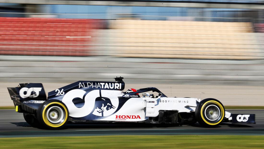 Alpha Tauri - F1-Test - Barcelona - 2020
