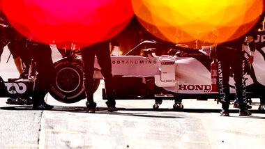 Alpha Tauri - F1-Test - Barcelona 2020