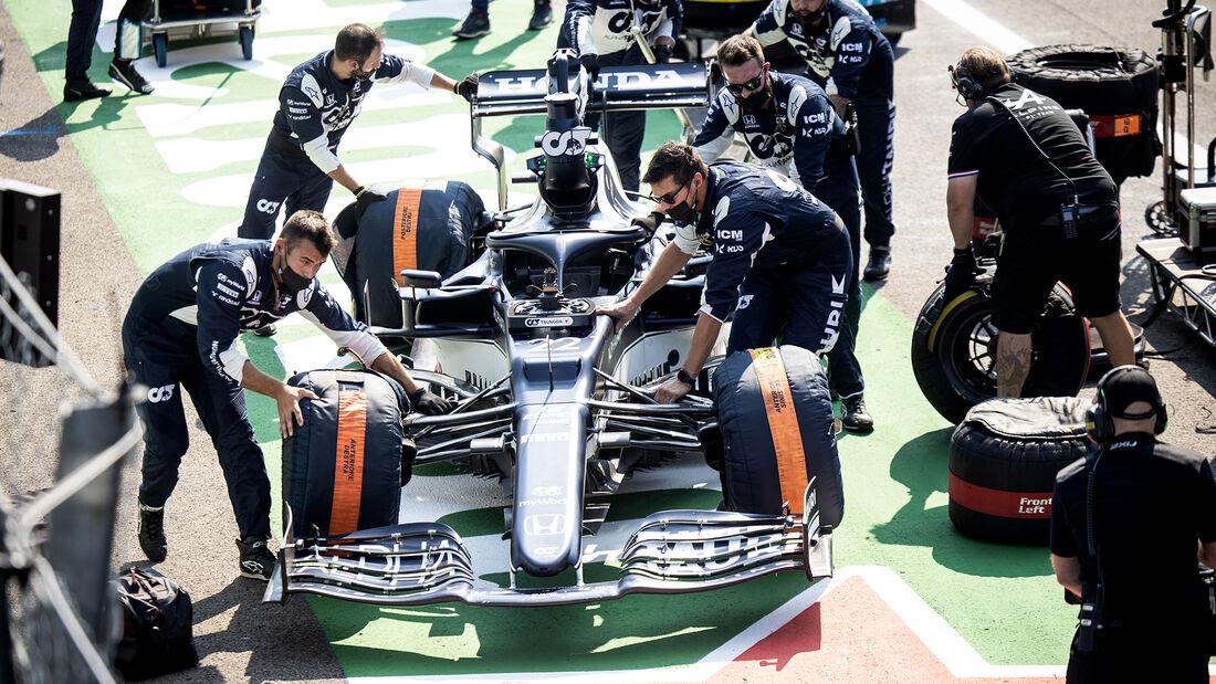 Alpha Tauri - Formel 1 - GP Italien - Monza - 2021