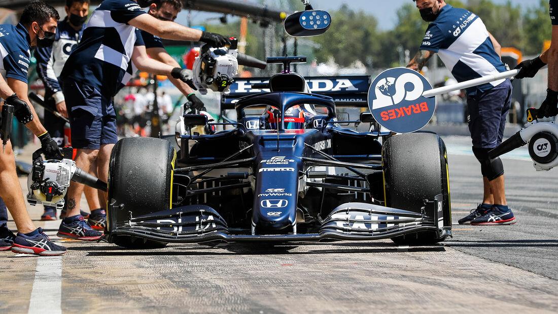 Alpha Tauri - Formel 1 - GP Spanien 2021