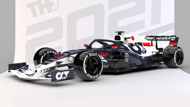 Alpha Tauri - Formel 1 - Livery-Concept 2021 - Tim Holmes Design