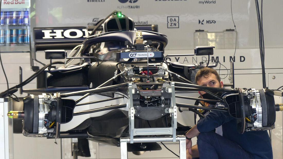 Alpha Tauri - Formel 1 - Portimao - GP Portugal - 29. April 2021