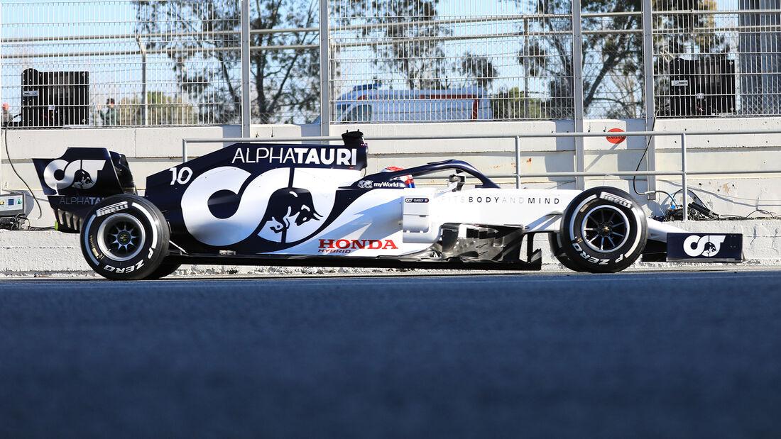 Alpha Tauri - Profil - F1-Test - Barcelona - 2020