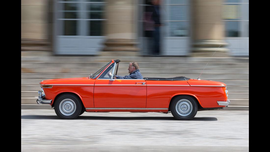 Alpina 1600 Cabrio Seite