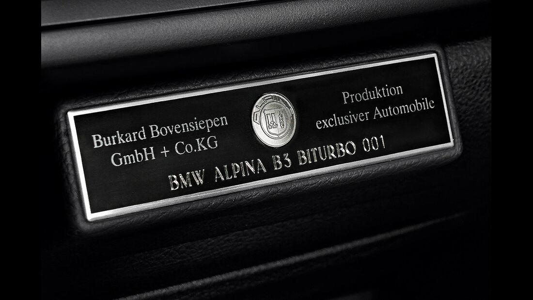Alpina B3 Biturbo Sperrfrist 25.2.