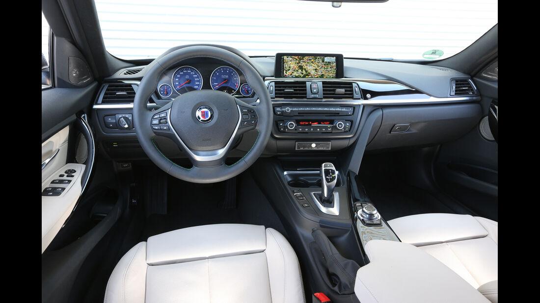 Alpina B3 Biturbo Touring Allrad, Cockpit
