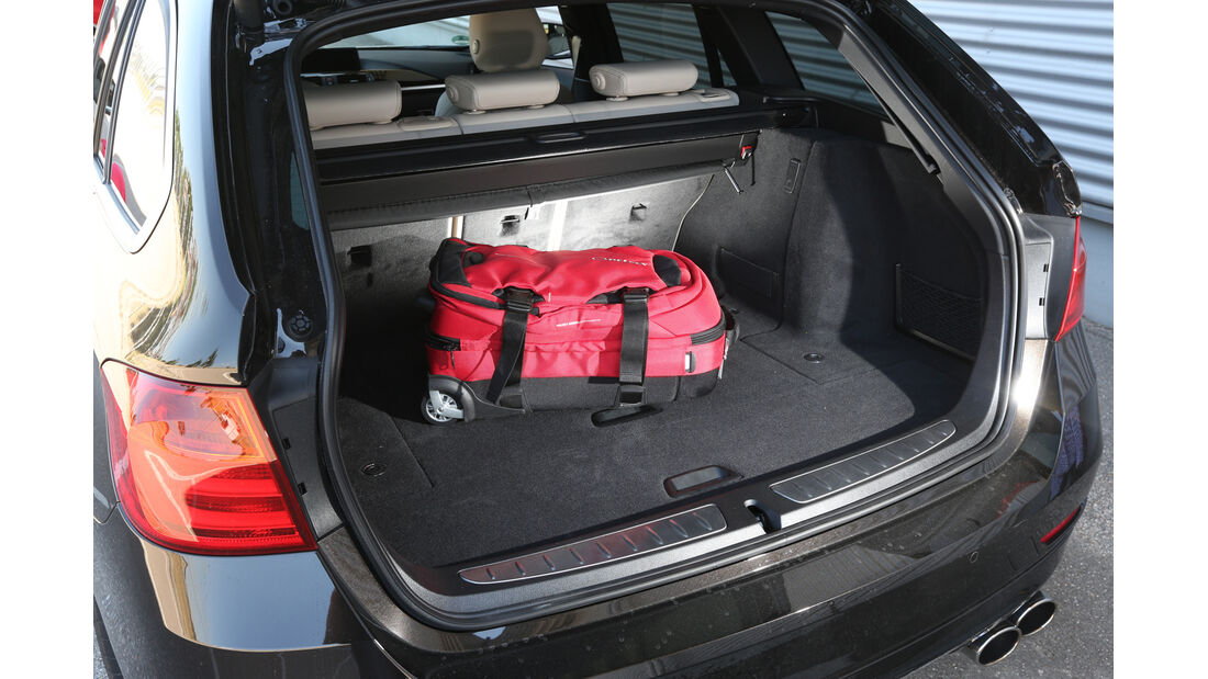 Alpina B3 Biturbo Touring Allrad, Kofferraum