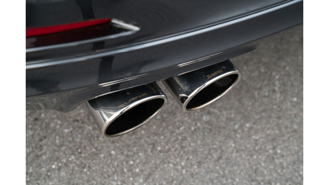 Alpina B3 S - Limousine - Rennstrecke - Bilster Berg - Fahrbericht