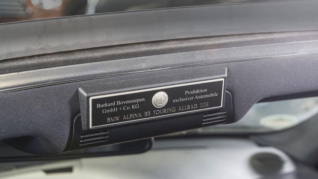 Alpina B3 Touring, Interieur