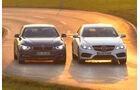Alpina B4 Biturbo Coupé Allrad, Mercedes E 500 Coupé, Frontansicht