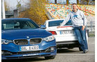 Alpina B4 Biturbo Coupé Allrad, Mercedes E 500 Coupé, Jens Dralle