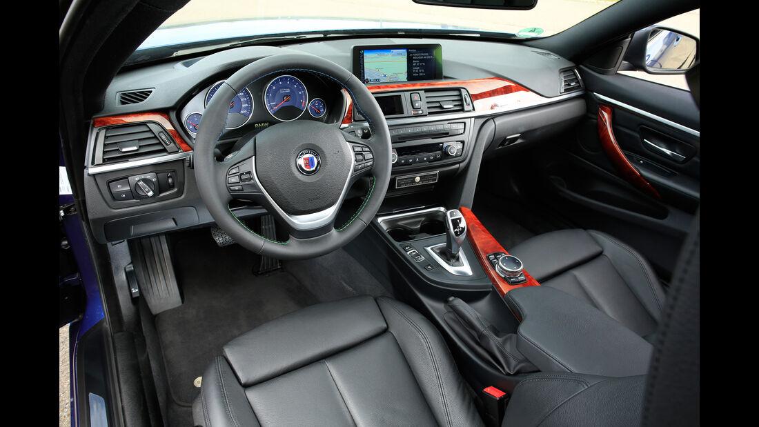 Alpina B4 Biturbo Coupé, Cockpit