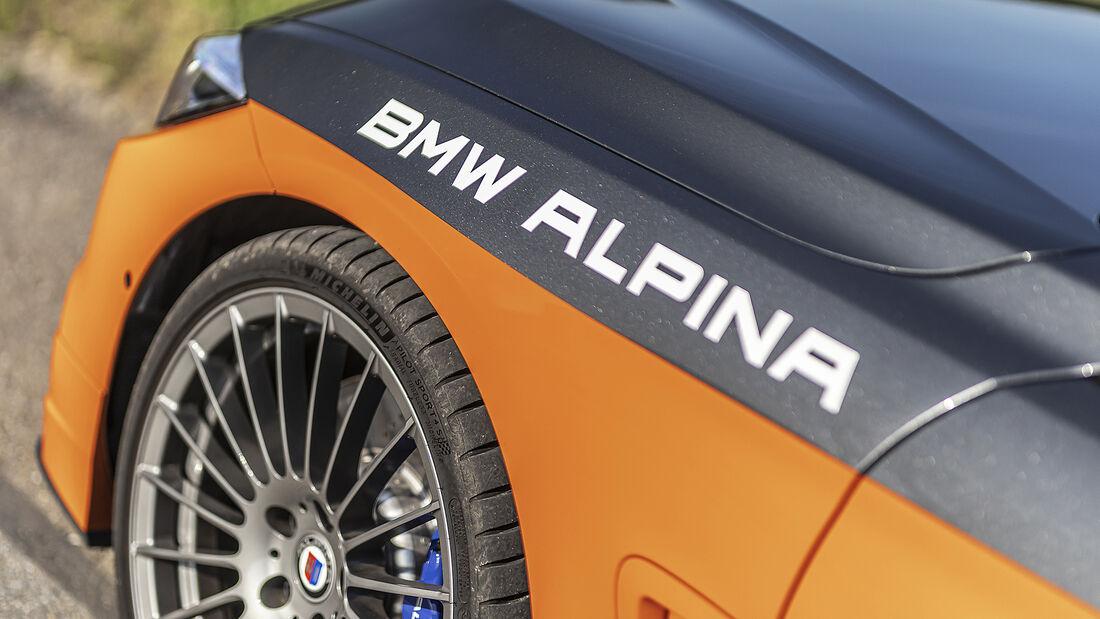 Alpina B4 S Biturbo Allrad Edition 99, Exterieur