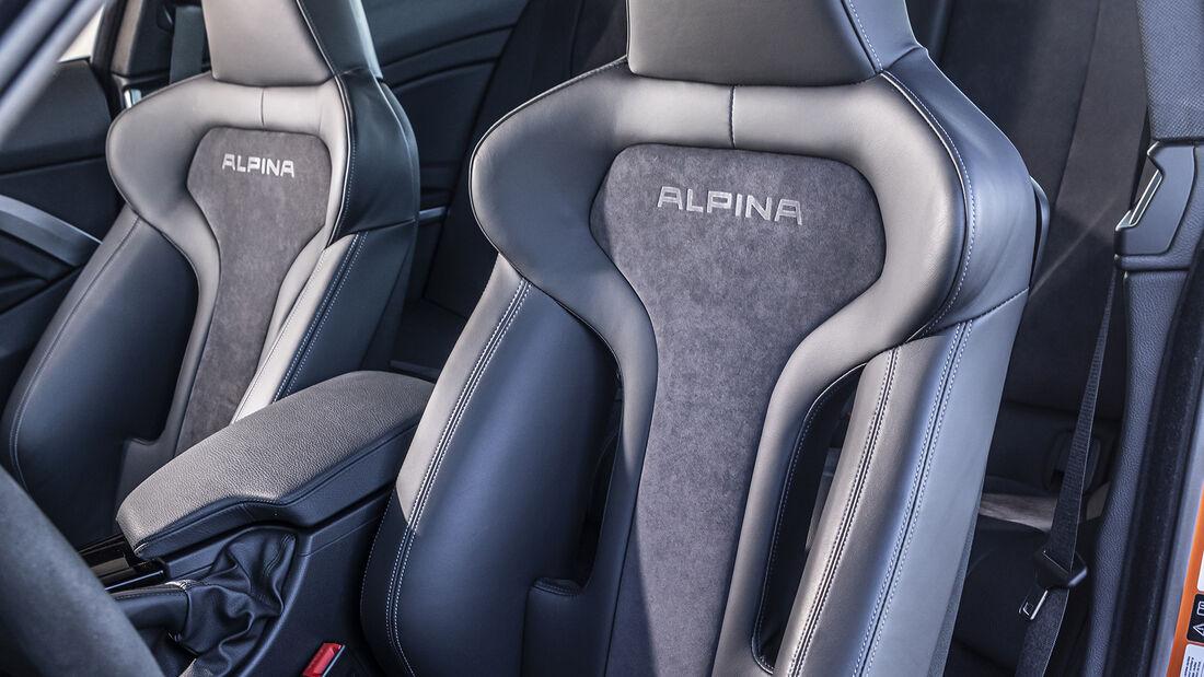 Alpina B4 S Biturbo Allrad Edition 99, Interieur