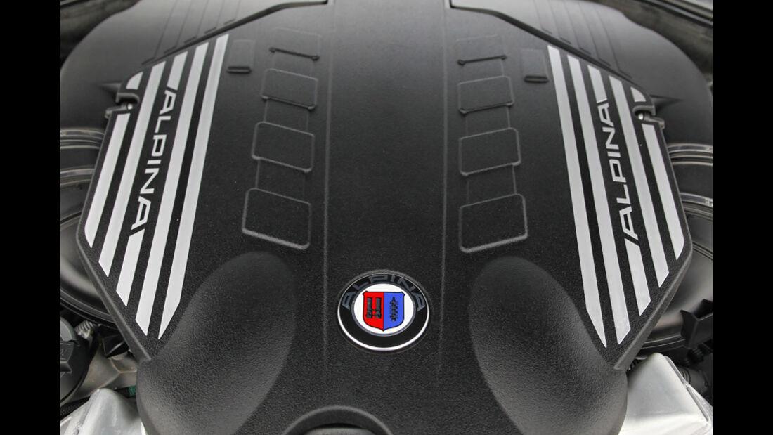 Alpina B5 Biturbo, Motor, nah