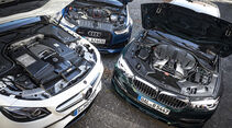Alpina B5 Biturbo Touring, Audi RS6 Avant Performance, Mercedes-AMG E 63 S T-Modell, Motor