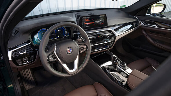 Alpina B5 Biturbo Touring, Interieur