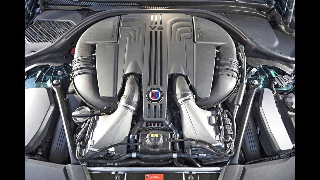 Alpina B5 Biturbo Touring, Motor