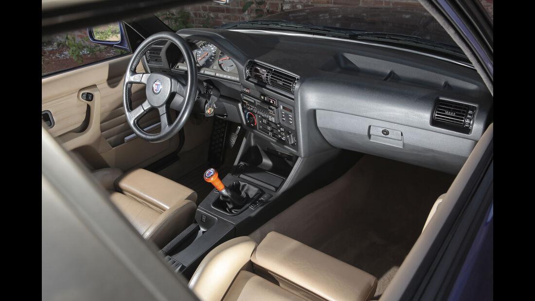 Alpina B6 3.5S Fahrbericht, Interieur