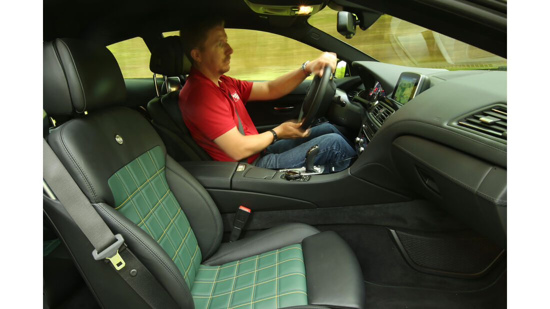 Alpina B6 Biturbo Coupé Edition 50, Cockpit