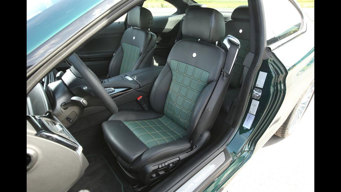 Alpina B6 Biturbo Coupé Edition 50, Fahrersitz