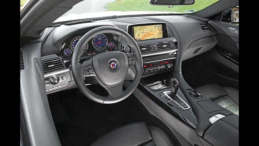 Alpina B6 Biturbo Edition 50, Cockpit