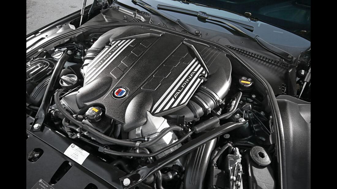 Alpina B6 Biturbo Edition 50, Motor