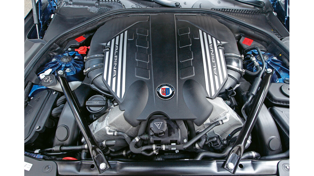 Alpina B6 Biturbo, Motor