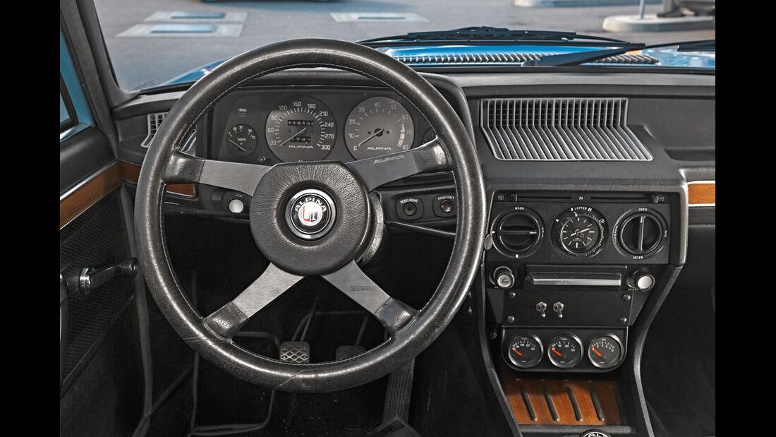 Alpina-BMW 528, Cockpit
