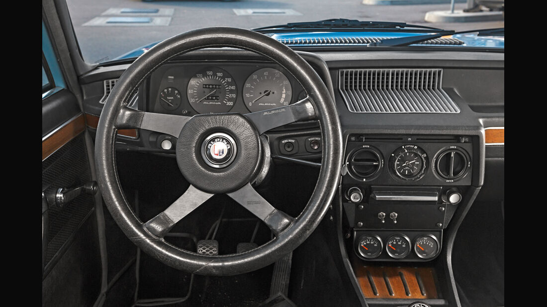 Alpina-BMW 528, Cockpit
