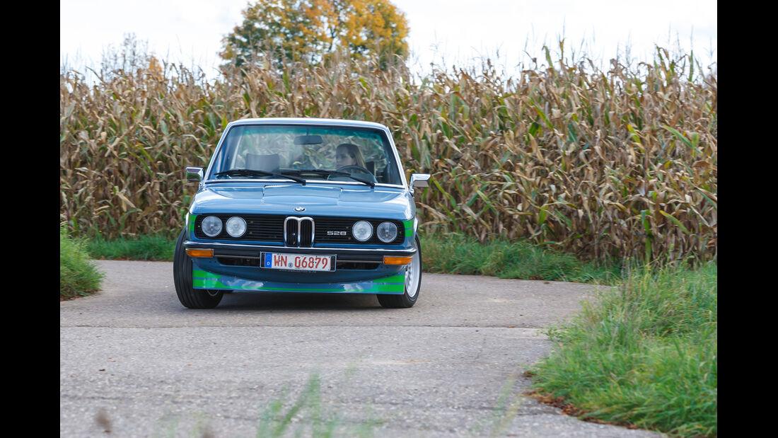 Alpina-BMW 528, Frontansicht