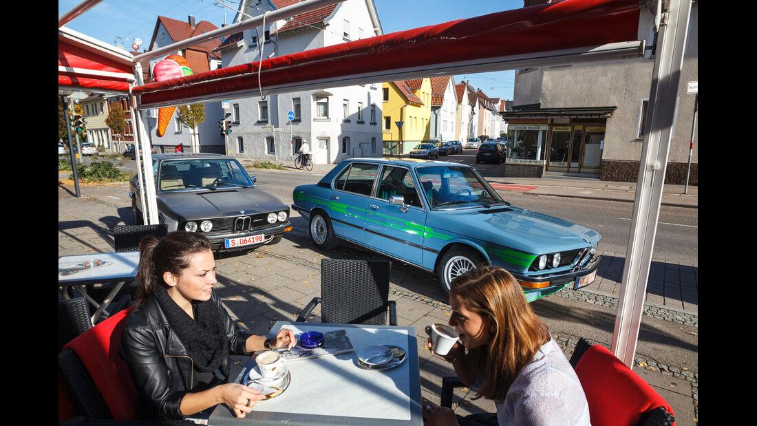 Alpina-BMW 528, Hartge-BMW 528, Frontansicht, Cafe