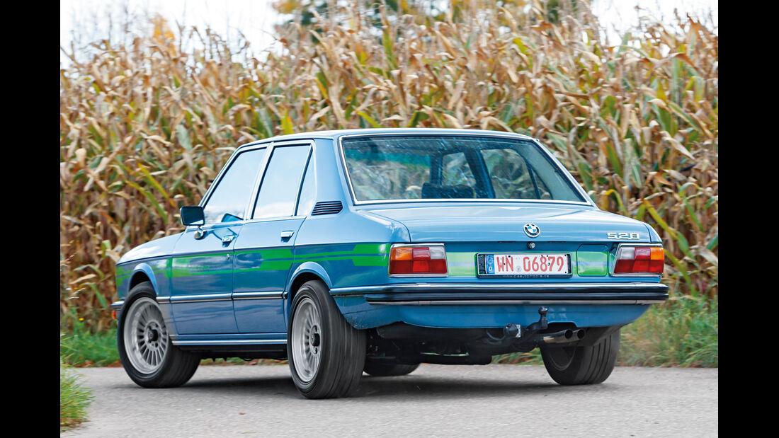 Alpina-BMW 528, Heckansicht