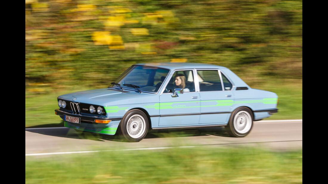 Alpina-BMW 528, Seitenansicht