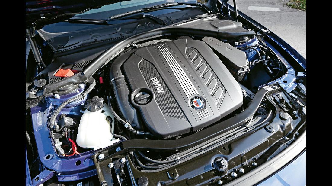 Alpina D3 Biturbo, Motor