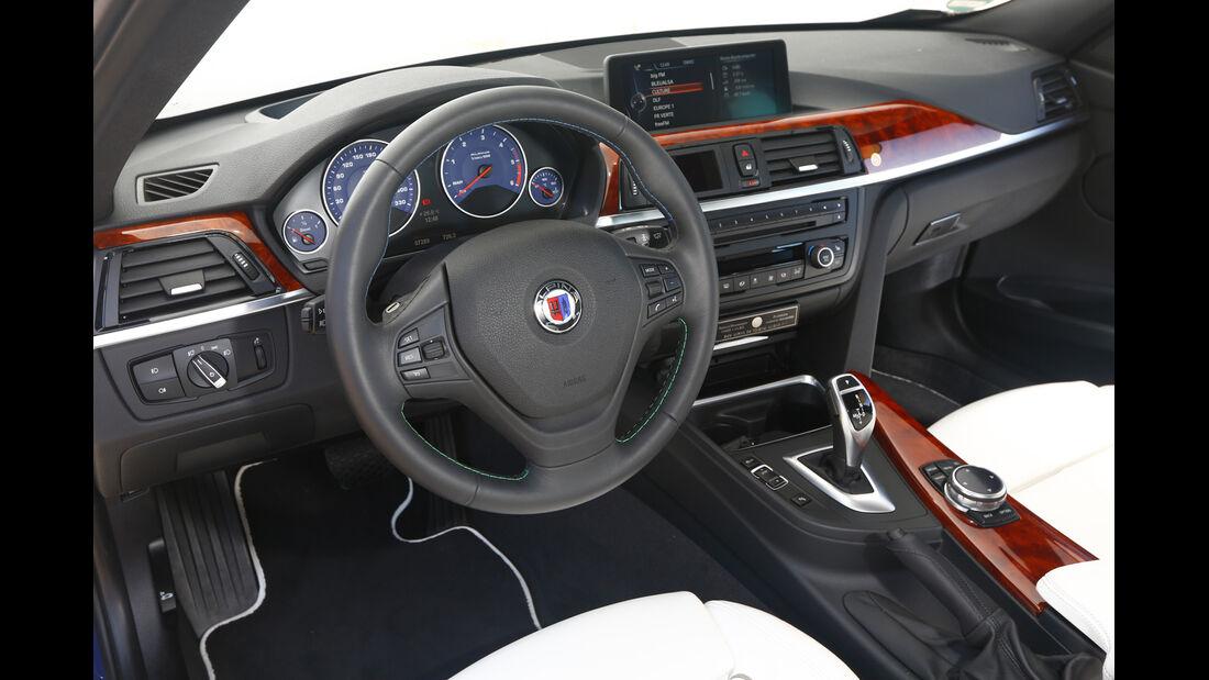 Alpina D3 Biturbo Touring Allrad, Cockpit