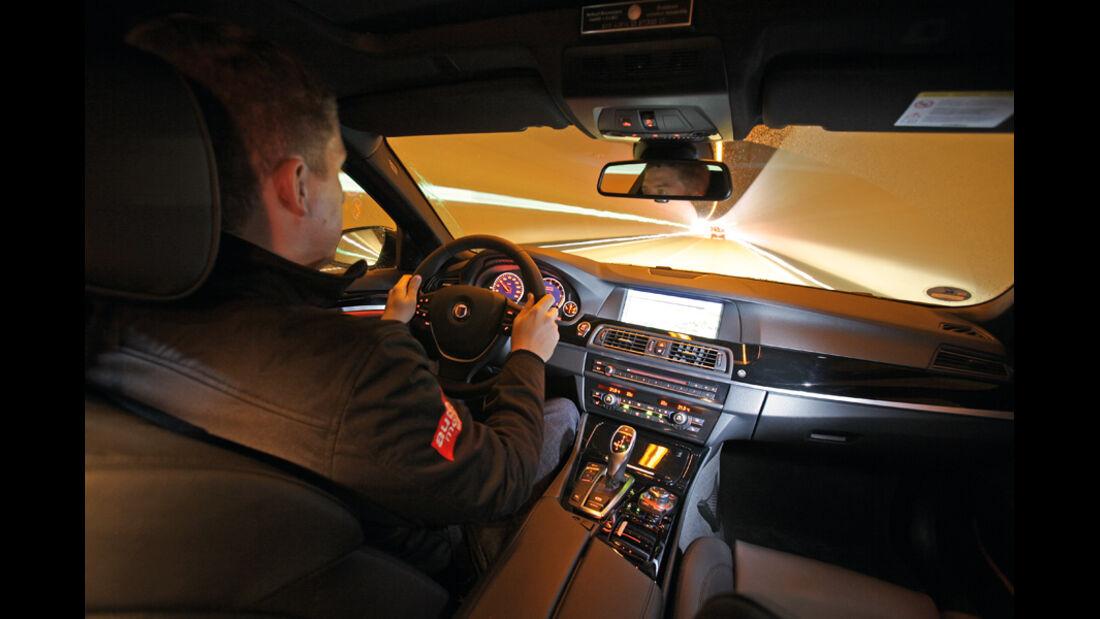 Alpina D5 Biturbo, Cockpit