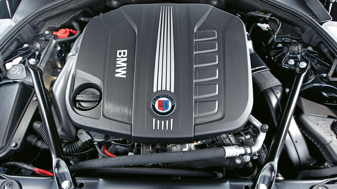 Alpina D5 Biturbo, Motor