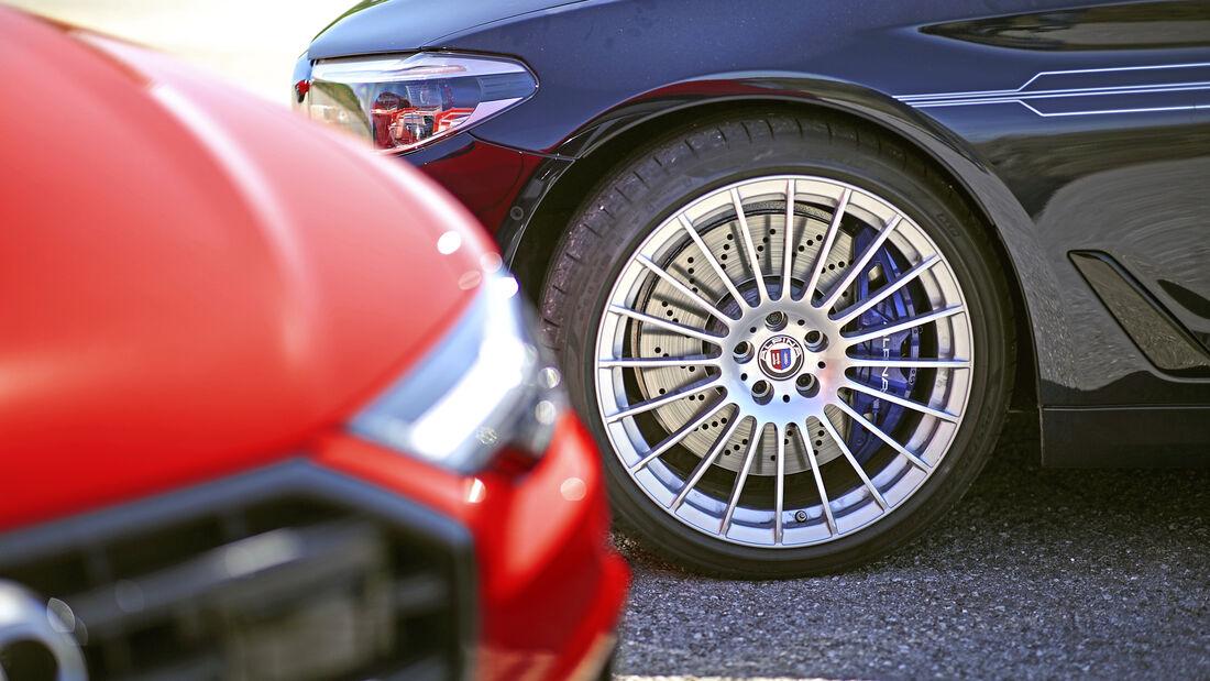 Alpina D5 S Touring, Audi S6 Avant TDI, Exterieur