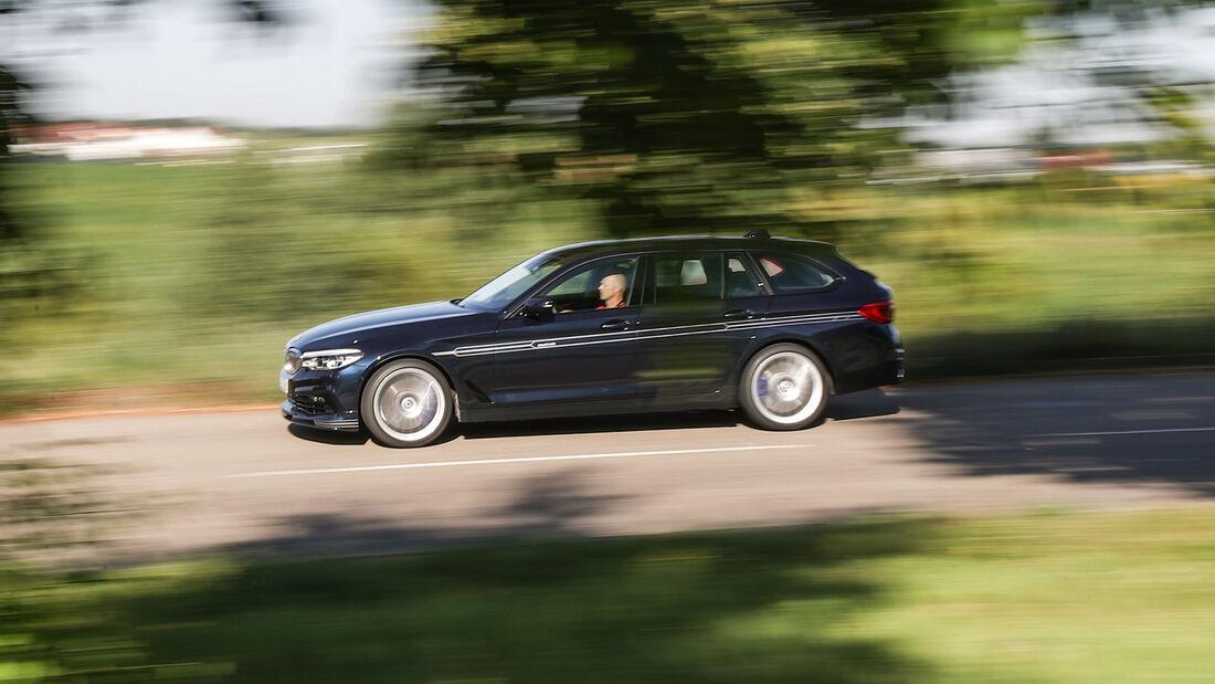 Alpina D5 S Touring, Exterieur