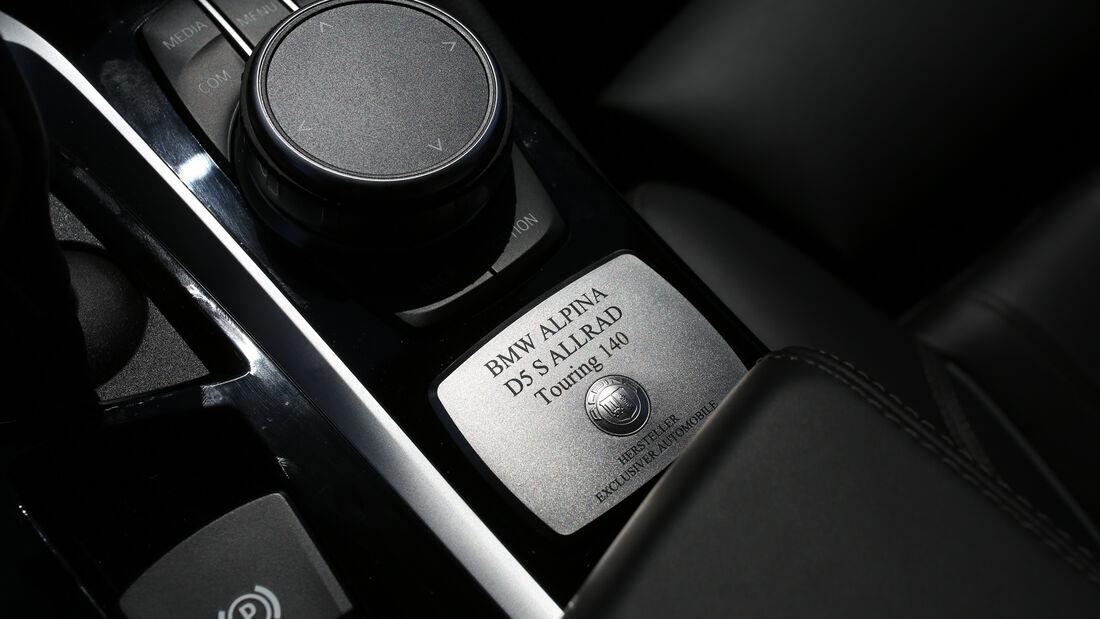Alpina D5 S Touring, Interieur