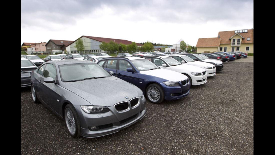 Alpina Kleinserien-Hersteller Fuhrpark