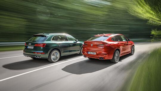 Alpina XD4, Audi SQ5, Exterieur