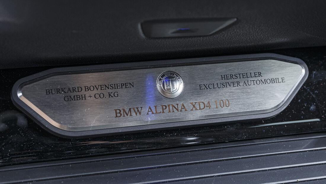 Alpina XD4, Interieur