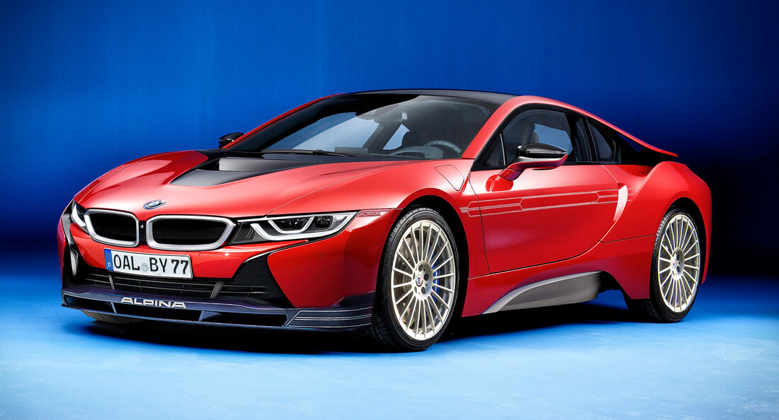 Alpina i8 Retusche