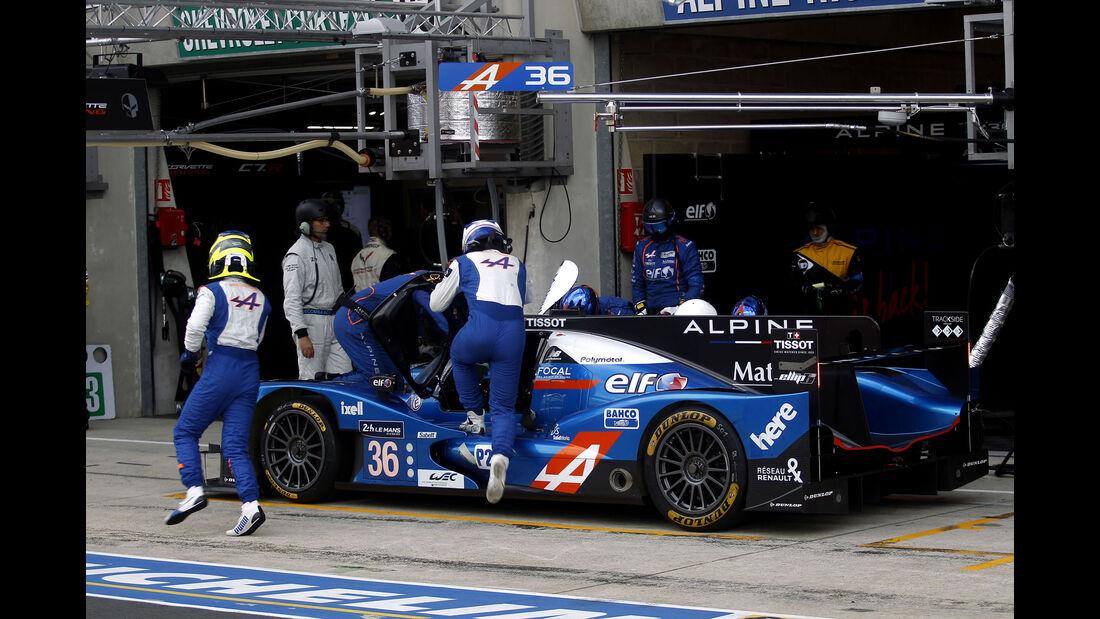 Alpine 460 Nissan - #36 - 24h Le Mans - Samstag - 18.06.2016