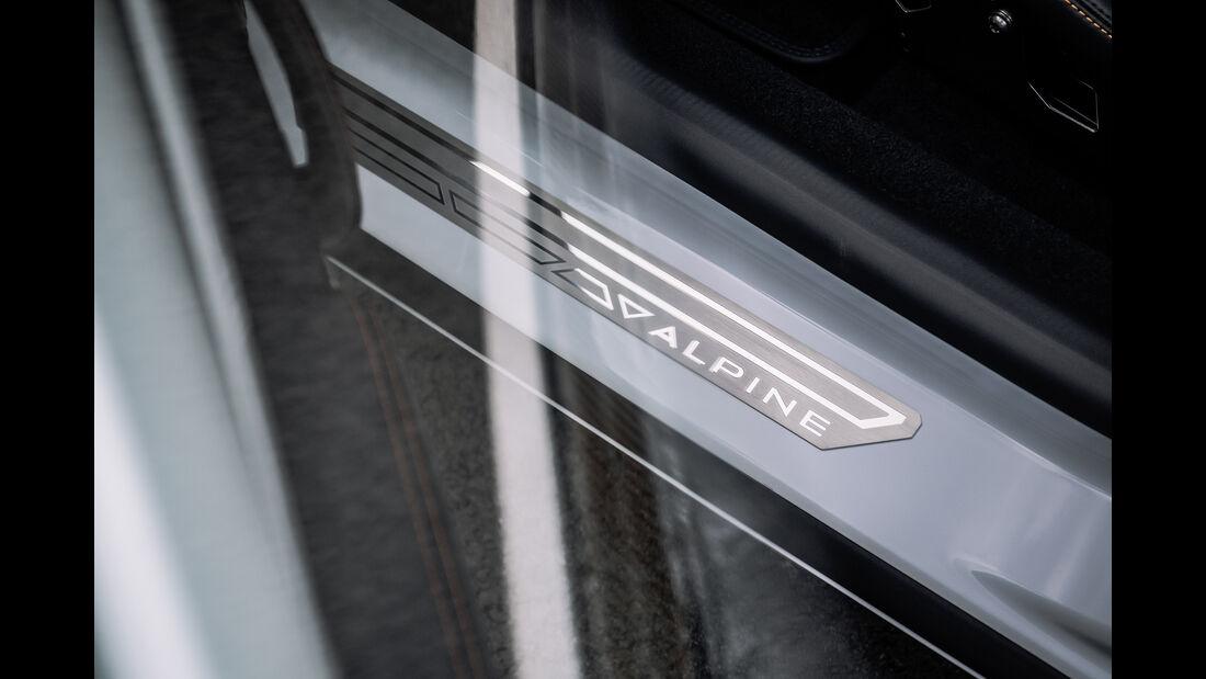 Alpine A 110 S, Fahrbericht, 2019, Einstiegsleiste